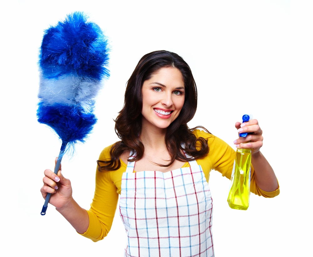 The key for reducing the volatile chemical compounds when cleaning
